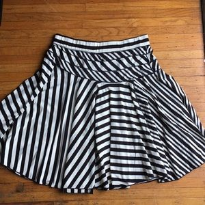 Fit and flare skirt